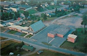 Bancroft Ontario~Our Lady of Mercy Church~Rectory~School & Convent~Aerial~1950s