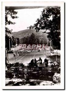 Postcard Modern Ax les Thermes Tennis