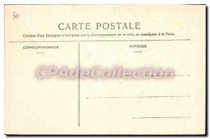Old Postcard Menton Garavan La Frontiere From Italy