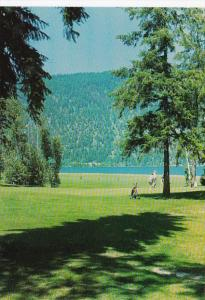 Canada British Columbia Little Shuswap Lake Sunshore Golf Club