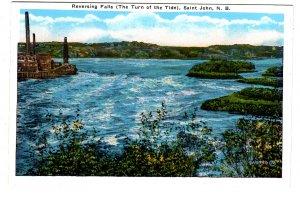 Reversing Falls, Turn of the Tide, Saint John, New Brunswick