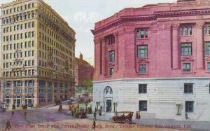 New Post Office and International Bank Bldg., Temple Square, Los Angeles, Cal...