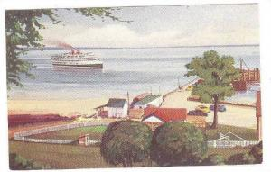 Steamer Cruise Liner, St. Simeon, Province of Quebec, Canada, 00-10s