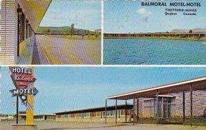 Canada Balmoral Motel Hotel Thetford Mines Quebec 1974