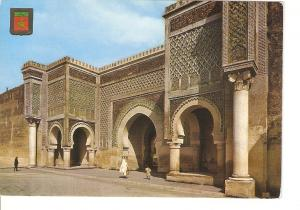 Postal 020177 : Vista de la puerta Bab Mensour. Siglo XVI. Meknes