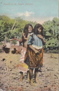 Panama Native Indian Girls Flowers Of The Jungle