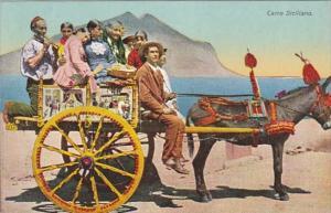 Donkey Cart Carro Siciliano