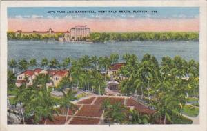 Florida West Palm Beach City Park And Bandshell