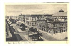 Bari - Corso Cavour - Teatro Petruzzelli, ITALY 1910-30s