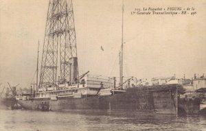 Nautica Le Paquebot Figuig de la Generale Transatlantique 03.29