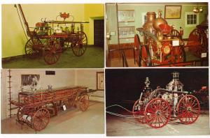 3 - Early Horse Drawn Fire Engines