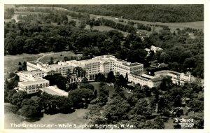 WV - White Sulphur Springs. The Greenbrier    *RPPC