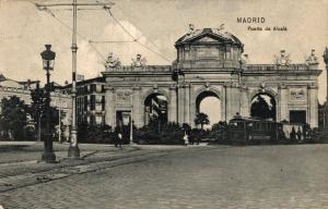 Spain Madrid Puerta de Alcala 02.14