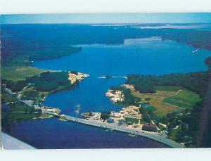 Pre-1980 AERIAL VIEW Naples Maine ME AD0171