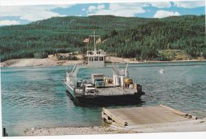 Needles - Fauquier Ferry , Highway 6 , B.C. , Canada , 50-60s