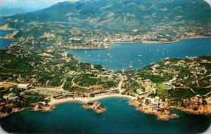 Mexico Acapulco Aerial View