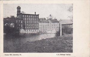 Parker Mill Quechee Vermont 1919
