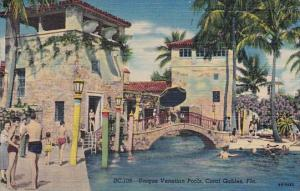 Florida Miami Coral Gables Unique Venetian Pools 1952