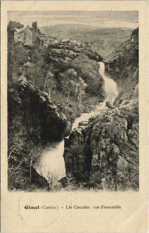 CPA GIMEL Les Cascades (144685)