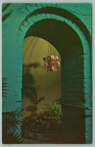 Key West Florida~West Martello Fortress~Flower Show~Orchids in Dungeon~1960s