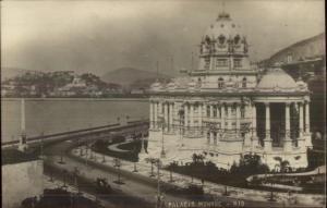 Rio De Janeiro Palacio Monroe c1910 Real Photo Postcard