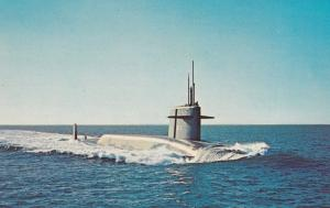 U.S.S. Thomas A. Edison submarine, 40-60s ; Version-2