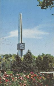 BG35436 tashkent obelisk to y  a gagarin in the park of his name Uzbekistan