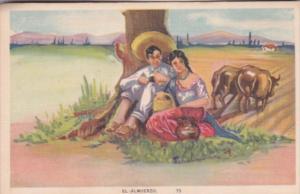 Romantic Couple El Almuerzo