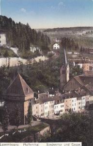 Pfaffenthal, Siechentor Und Gasse, Luxembourg, 1900-1910s