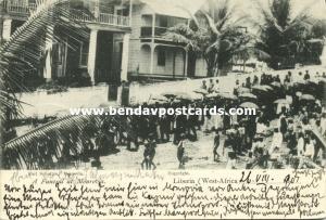 liberia, MONROVIA, Native Funeral Scene (1901)