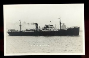 bf424 - United Africa Co Cargo Ship - Liberian , built 1936 - postcard Feilden