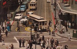 Powell And Market Streets San Francisco California