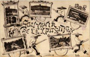 CPA AK INDOCHINA Souvenir de l'Exposition VIETNAM (957246)