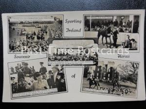 c1951 RPPC - Sporting Ireland, Irish Sweepstakes - Royal Dublin Society's Show