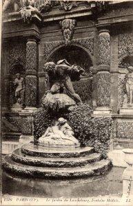 France Paris Jardin du Luxembourg Fontaine Medicis