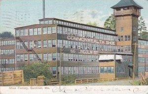 Maine Gardiner Commonwealth Shoe Factory 1910