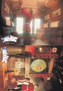 Tullie Houae Carlisle Railway 2x Mint Postcard s