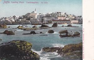 JAFFA, Israel, 1900-10s; Landing Place, Landungsplatz, La Rade