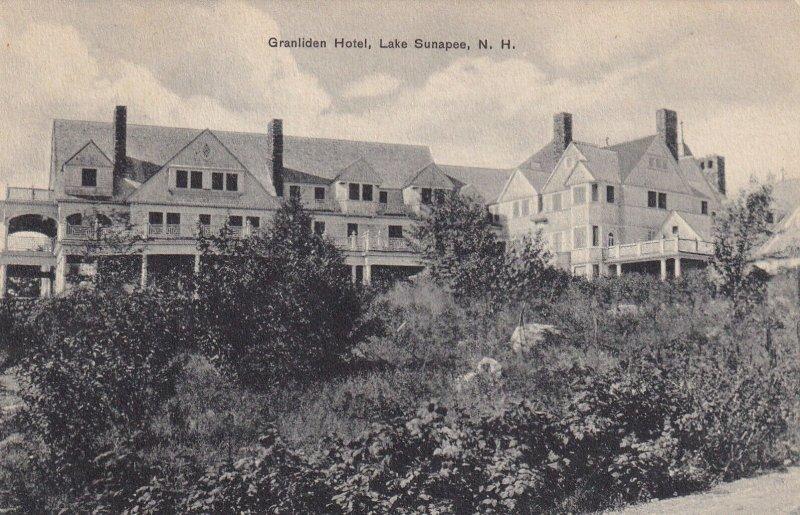 LAKE SUNAPEE, New Hampshire, 1900-1910's; Granliden Hotel