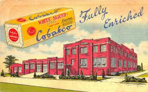 Cortland NY Cortland Baking Co. White Sliced Bread Multi-Color Postcard