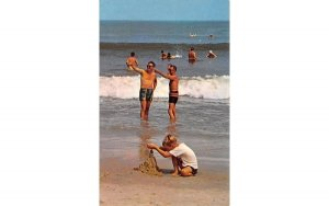 Beach Scene in Beach Scene, New Jersey