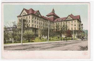Park Hotel Hot Springs Arkansas Detroit Pub postcard