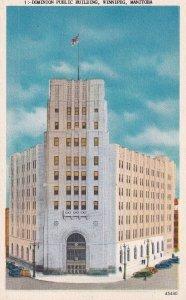WINNIPEG, Manitoba, Canada, 1900-1910s; Dominion Public Building