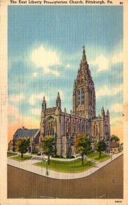 Pennsylvania Pittsburgh The East Liberty Presbyterian Church 1944