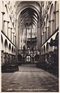 RP; Tournai, Grande nef de la Cathedrale, Waloon, Belgium, 10-20s