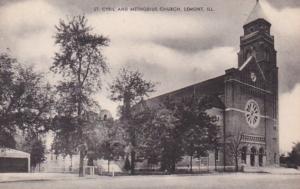 Illinois Lemont St Cyril and Methodist Chruch