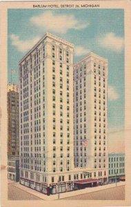 Michigan Detroit Barlum Hotel