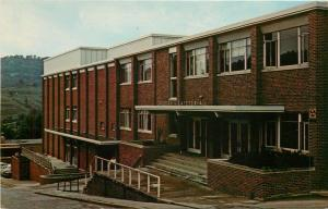Glenville West Virginia~State College~Dining Hall~Pioneer Center~1960s Postcard