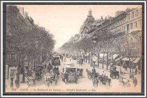 France, Paris - Italian Boulevard - [FG-010]