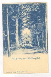 Hohesonne und Wartburgerblick, Germany, 1890s